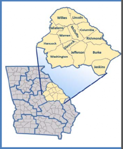 Region 7 - Central Savannah River Area
